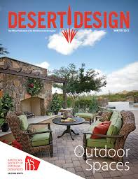 desert design magazine winter 2017 by arizona north chapter of