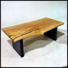 tap hole maple coffee table vermont tree goods tables sale mct1