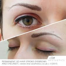 semi permanent eyeliner mw aesthetics permanent makeup london