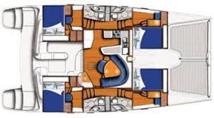 Catamaran Floor Plans Mojito Cat 47 U0027 Catamaran All Inclusive Crewed Yacht Charter