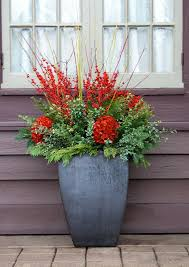 Winter Container Garden Ideas Sticks For Decorative Container Garden Container