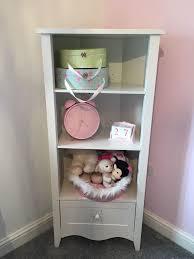 Next White Bedroom Drawers Girls Next White Bedroom Corner Unit U0026 Dressing Table With Mirror