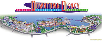 Orlando Area Map Florida by Downtown Disney Map Cannot Wait To Go Shopping Honeymoon