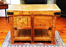 kitchen rustic portable island uotsh