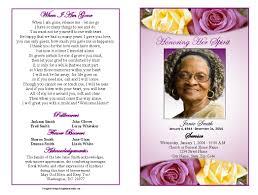 funeral programs exles funeral programs exles it resume cover letter sle