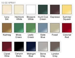 rust oleum 2x paint color chart rust oleum ultra cover 2x satin