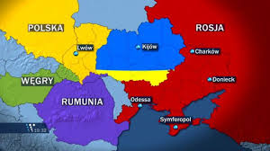 russia map after division a proposed division of ukraine between russia poland hungary