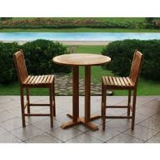 High Bistro Table Home Design Pretty Teak Bistro Table And Chairs Inspirations