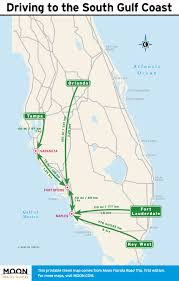 Venice Florida Map by Florida Road Trip Itinerary Sarasota Naples U0026 The Everglades