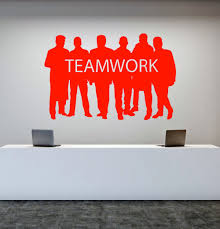 popular motivation word buy cheap motivation word lots from china motivational word stickers for office decoration teamwork vinyl wall decals six men silhouette art stickers new