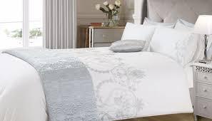 Silver Duvet Cover Bedding Set Beautiful Luxury White Bedding Sahara Silver Duvet