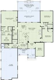 dimensioned floor plan house plan 82333 at familyhomeplans com