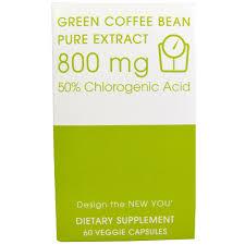 creative bioscience green coffee bean pure extract 800 mg 60