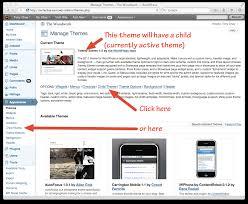 one click child theme u2014 плагины для wordpress