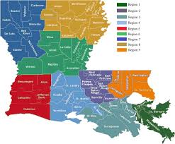 louisiana map in usa provider locator search a provider