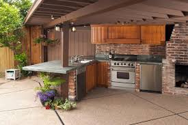 kitchen backsplash exles kitchen cool outdoor kitchen design in terrace as well