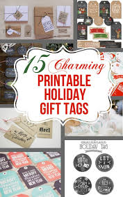 15 charming free printable christmas tags craving some creativity