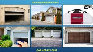 Overhead Garage Door Services by Garage Door Gardena Ca 424 221 5559 Overhead Garage Door Repairs