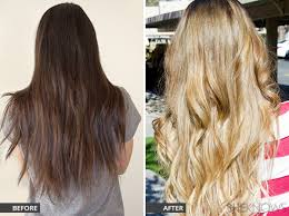 hair color light to dark hair column successfully go from dark to light hair for summer