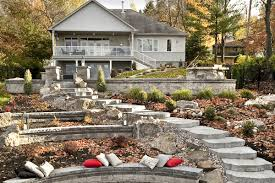 steep slope to multi level living landscaping products supplier