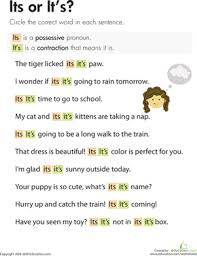 possessive pronouns lesson plan education com