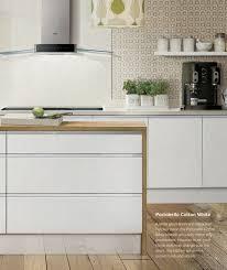 white gloss kitchen doors integrated handle two kitchens handleless doors
