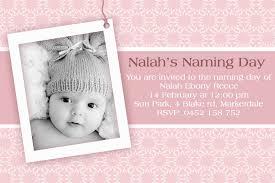 Personalised Christening Invitation Cards Catholic Christening Or Naming Day Celebration Invitation Sample