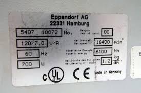 eppendorf 5417r refrigerated benchtop centrifuge ebay