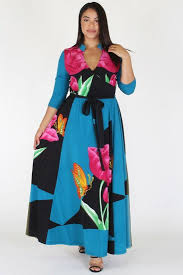 maxi dresses on sale plus size butterfly tropical ribbon tie maxi dress sale slayboo