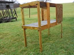 Plans For Building A Rabbit Hutch Outdoor Building A Dog House And Rabbit Hutch Living A Simple Life