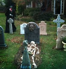 Diy Outdoor Decorations For Halloween by Halloween Cemetery Decorations Scary Halloween Party Decoration