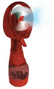 water bottle misting fan amazon com fine mist spray bottle fan personal portable handheld