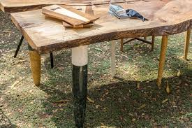 live edge outdoor table cosmos live edge marble table koy so contemporary
