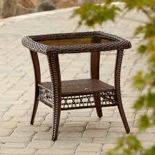 la z boy outdoor scarlett side table outdoor living patio