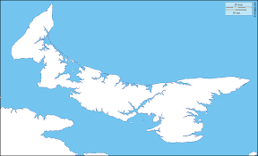 Blank Map Of Canada by Prince Edward Island Free Map Free Blank Map Free Outline Map