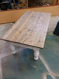 Old Coffee Table by Nifty Thrifty Momma Farmhouse Style Coffee Table
