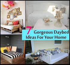 7 gorgeous and beautiful daybed ideas for your home