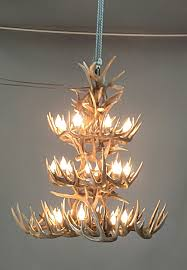 American Made Chandeliers Whitetail Antler Chandeliers Antler Lighting Made In Usa
