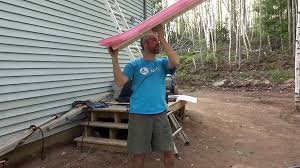 easy way to install attic rafter baffle vents from the outside