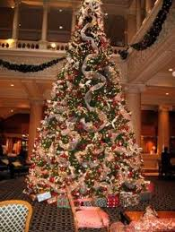 7 5 ft gold tree tree poinsettia and