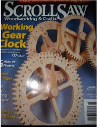 Free Wooden Gear Clock Plans Download by Wooden Gear Clock 8 Steps With Pictures