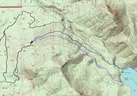 Lake Washington Map by Packwood Lake Goat Rocks Hikes