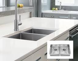 double kitchen sinks techna stainless steel double kitchen sink sinks stainless steel