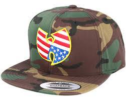 American Flag Snapback Hat Wu Wear American Camo Snapback Mister Tee Cap Hatstore De