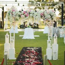 wedding arches hire perth floral truss arch wedstyle weddings events styling