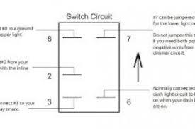 narva 5 pin rocker switch wiring diagram wiring diagram