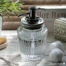 unique soap dispenser kilner vintage glass preserve jar soap dispenser with chrome