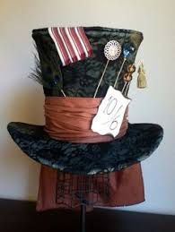 costume garã on mariage go ask or the mad hatter allstair cbell in