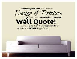Design Your Own Personalised Wall Art Quote Vinyl Stickers And Decals - Design your own wall art stickers
