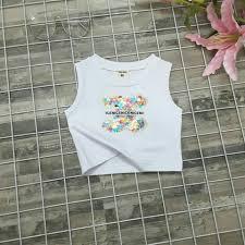 áo croptop bé gái 1 7 tuá •i Quần áo xuất khẩu